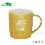 12oz Fall-in-Love выбитая керамическая кружка