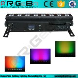 8*8W RGBWA 5 in 1 Licht van de LEIDENE Draadloze LEIDENE van het Beslag Wasmachine van de Muur