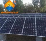 太陽エネルギーシステムのための260Wモノクリスタルケイ素の太陽電池パネル