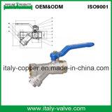 Garantía de calidad el latón forjado y el tamiz de la válvula de bola (AV1047A)