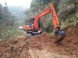 Escavatore cinese della rotella di prestazione eccellente piccolo con la benna da vendere