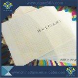 Marca de Impressão de papel certificado de documentos de segurança
