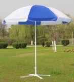Qualitätblauer bekanntmachender Sun-im Freienstrand-Regenschirm