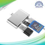 Taper C à USB tout dans un lecteur de cartes