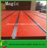 15m m MDF/Slatwall ranurado melamina