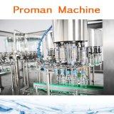Máquina de engarrafamento automática da água bebendo e planta de enchimento
