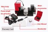 Mini machine de tour motorisée par métal pour le passe-temps DIY de Modelmaking