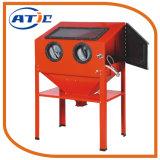 chorreadora de arena eléctrica de la cabina del precio de la máquina del arenador de la arena 220L