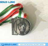 Souvenir fait sur commande de recyclage de récompense de sports de médailles en métal de médaille de vélo