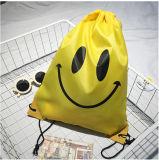 ابتسام حبل أصفر حارّ يبيع حمولة ظهريّة
