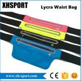 La ejecución de Lycra impermeable deporte al aire libre en la cintura con orificio auricular