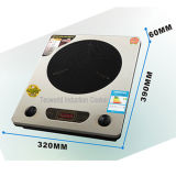 L'energia a temperatura elevata del forno elettromagnetico del fornello di induzione salva 1800W