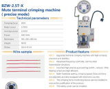 Máquina que prensa del mudo de Bzw (modo exacto)