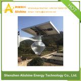 lumière solaire de jardin du réverbère de silicium monocristallin de la haute performance 12W DEL