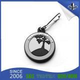 Le trousseau de clés de PVC de vente d'usine avec conçoivent le logo en fonction du client