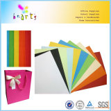 Colorear los bloques de papel de tarjetas de la tarjeta del color de papel y completarlos