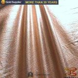210d nylon Gouden het Stempelen van de Stof van de Rimpel van de Taf Stof voor BenedenJasjes