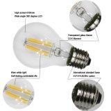 Alto lúmen 4W E27 Globe filamento da lâmpada LED