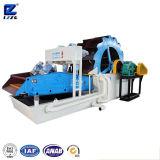 Lzzg Sand, der Maschine mit Polyurethan-entwässernbildschirm wäscht und aufbereitet