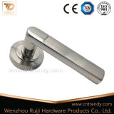 Escutcheon (AL013-ZR09)에 아연 Alloy Aluminum Door Lock Lever Handle