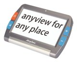 Iview 7HD lupa video Handheld electrónica de la pantalla del LCD de 7 pulgadas para la visión inferior