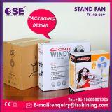 Ventilateur d'intérieur de stand de ventilateur de refroidissement de tête bleue de couleur de fournisseur de la Chine (FS-40-815)