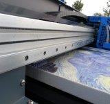 Impresora plana ULTRAVIOLETA de la pintura al óleo de la lona de la impresora de Digitaces del Mariposa-Jet