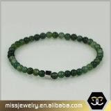 O bracelete de pedra natural do grânulo, homens do bracelete vende por atacado o bracelete da forma