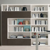 食料貯蔵室のキャビネットが付いている現代簡単な家庭内オフィスの家具のキャビネット