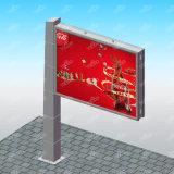 Material metálico de la publicidad en vallas al aire libre
