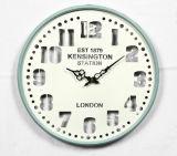 جدار فنية أثر قديم معدن ساعة مع [فكتوري بريس]