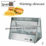 Matériel de chauffage électrique commercial de chauffage de cuisine d'étalage de réchauffeur de nourriture d'étalage