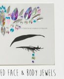 Nuevo rostro saludable ojo joyas Sticker SGS Test órgano temporal Tatuaje adhesivo para Festival (SR-03)