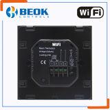 Termóstato elegante de Tgt70WiFi-Ep WiFi regulador de temperatura programable de la pantalla táctil de 7 días para la calefacción eléctrica
