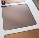 Qualitäts-Tee-GoldEdelstahl-Farben-Panel für Tür, Höhenruder, Wand-Dekoration