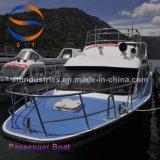 barco de pasajero del 18m con la carrocería del barco de la fibra de vidrio