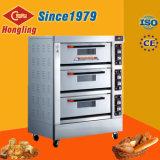 De het Commerciële Elektrische Brood van drie Dek/Oven van de Toost/van de Pizza met de Certificatie van Ce
