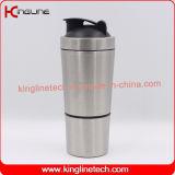 Schüttel-Apparatflasche des Protein-700ml, Sportflasche, Eignungschüttel-apparatflasche, Gymnastikschüttel-apparat, Edelstahlschüttel-apparatflasche, Wasserflasche (KL-7068)