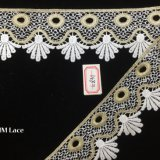 6cm élégant cadeau de mariage enrouler du ruban, courbe festonnées Bridal Veil Dentelle hme831