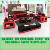 Jogo moderno do sofá do divã do couro da mobília