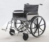Manuel en acier, bariatrique, fauteuil roulant lourd (YJ-010B)