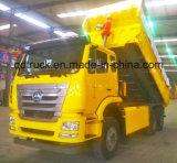 6X4 de Vrachtwagen van de Stortplaats HOWO/HOHAN/van de Kipper met Cimc Lichaam van de Lading Huajun