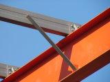 Oficina estrutural de aço pré-fabricada elegante para a fábrica