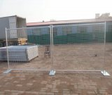 Fechtender Garten, temporärer Zaun, Belüftung-Zaun