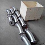 Codo de acero sintético revestido de cerámica de la alúmina de la alúmina
