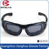 Nuevas gafas de sol militares de seguridad balistica rellena tactica gafas deporte de los hombres