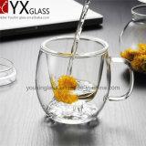 500ml Conjunto de copo de vidro de borosilicato resistente ao calor / feito à mão Novo estilo Copo de parede único copo de chá Conjunto / Copo de bebida Copo de chá / caneca