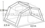 De draagbare Strakke Opblaasbare Tent van de Lucht voor het Kamperen K5148