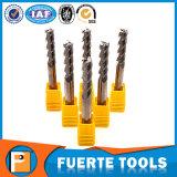 3 Flöte-Hartmetall-Quadrat-Enden-Tausendstel-Scherblock für das Aluminiumaufbereiten