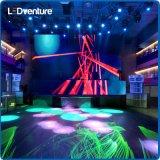 Exhibición de LED móvil a todo color de interior para el alquiler